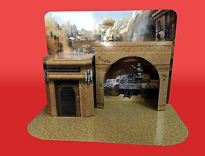 JEDHA REVOLT Custom Pop Up Playset for Hasbro Kenner Star Wars Action Figures