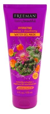 FREEMAN FACIAL CACTUS + CLOUDBERRY WATER GEL MASK 6 (Freeman Facial Mask)
