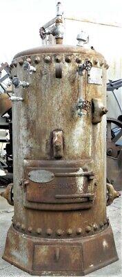 1927 Little Giant Steam Boiler Tractor Hit Miss Old Gas Engine Locomotive Model