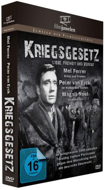 Kriegsgesetz - Liebe, Freiheit und Verrat - mit Mel Ferrer - Filmjuwelen DVD