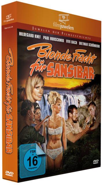 Blonde Fracht für Sansibar (Mozambique) - mit Hildegard Knef - Filmjuwelen DVD