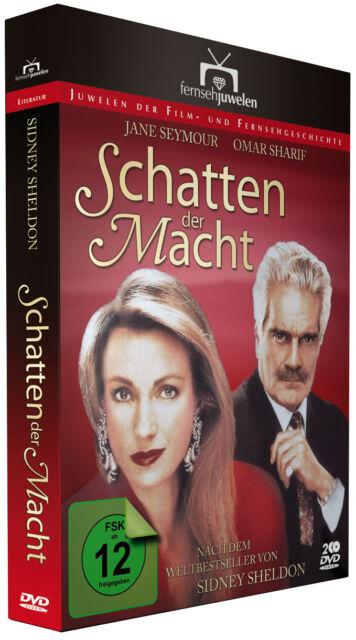 """Schatten der Macht (1-2) - nach Sidney Sheldon (""""100 Karat"""")  Fernsehjuwelen DVD"""