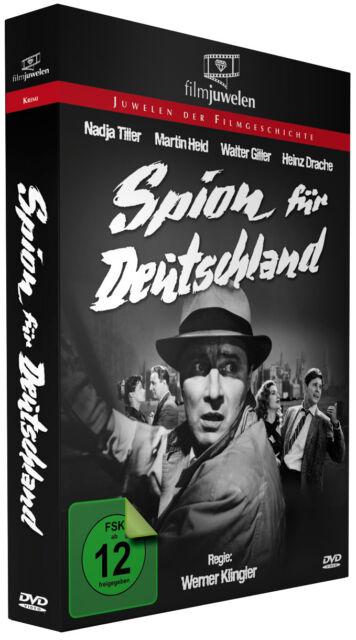 Spion für Deutschland - mit Nadja Tiller und Martin Held - Filmjuwelen DVD