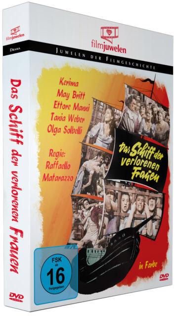 Das Schiff der verlorenen Frauen - mit Kerima & Ettore Manni - Filmjuwelen DVD
