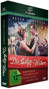 Die lustige Witwe - mit Peter Alexander - nach Franz Lehar - Filmjuwelen DVD