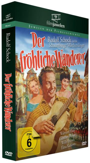 Der fröhliche Wanderer - mit Rudolf Schock und Waltraut Haas - Filmjuwelen DVD