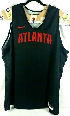 Nike NBA Atlanta Hawks Player Issue Training Practice Jersey Reversible 3XLT NWT