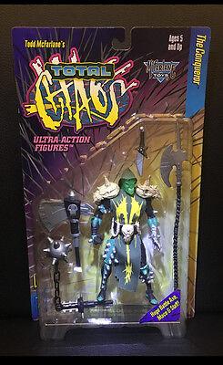 Total Chaos Figur The Conqueror Serie 1 Mc Farlane Toys Spawn  Neu OVP wie NECA