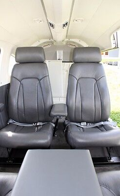 Piper Malibu complete custom leather interior