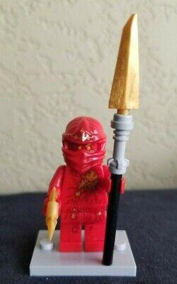 Lego Ninjago Minifigure NRG Kai Red Ninja 9591 LEGO Mini Figure