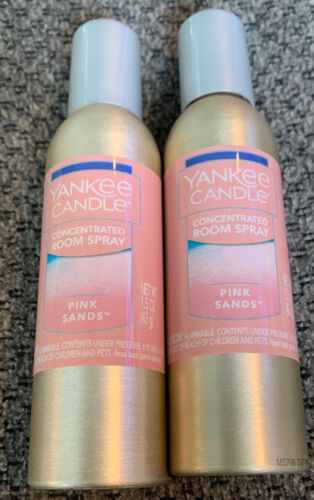 yankee candle concentrated room spray 2 Pack Of Pink Sands