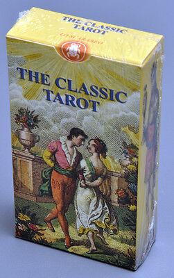 CLASSIC TAROT CARD DECK - REPRO OF 1835 DELLA ROCCA SOPRAFINO BY LO SCARABEO