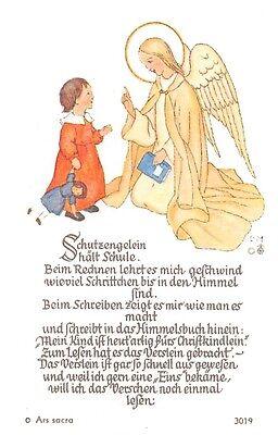 "Fleißbildchen Heiligenbild Gebetbild Andachtsbild Holy cards Ars sacra"" H40""60`S"
