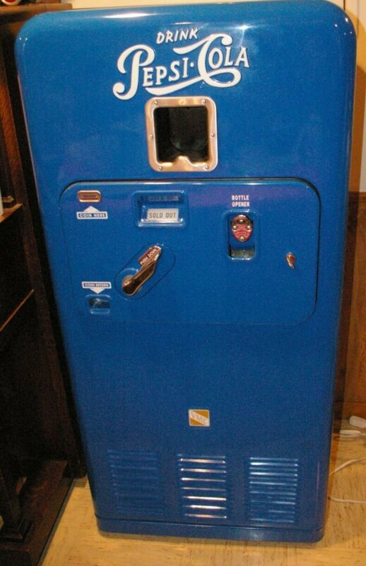 Restored Operational Vendo 33 Pepsi Vending Machine Local Pickup Only Cash Only