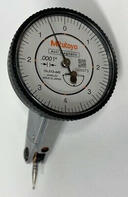 Mitutoyo 513-443 Dial Test Indicator .016 Range .0001 Graduation