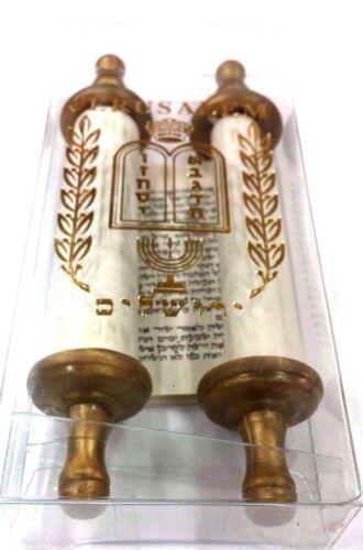 Torah Scroll Mini Hebrew Jewish Bible - Judaica Gift