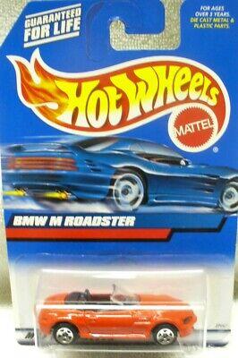 NIP 1999 HOT WHEELS 1/64 Diecast Red BMW M Roadster Car #100-Malaysia