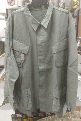 Vietnam Era Reproduction Slant Pocket BDU Shirt  XX Large  NEW