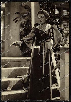 "Ruth Elizabeth ""Bette"" Davis-Frau mit Revolver-Photocard-"