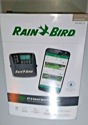 Rain Bird ST8I-2.0 8-Station WiFi Compatible Smart Irrigation Indoor Model