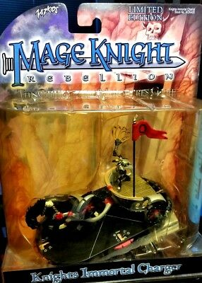 MAGE KNIGHT Rebellion Knights Immortal Charger Collectable Miniatures Game ltd