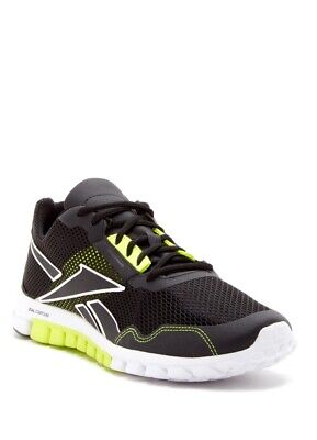 Reebok Realflex Run 2.0 EX Black/White/Green V53904 100% Authentic.