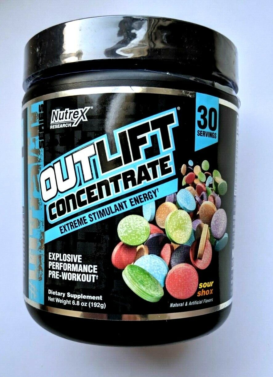 Nutrex Outlift Concentrate 30 serv  Explosive performance Pr