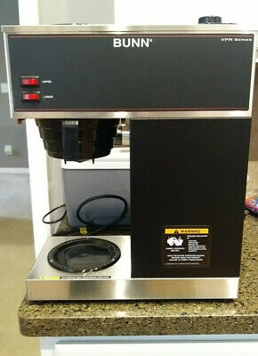 Bunn Vpr 33200.0001 Commercial Pour Over Coffee Maker Dual Warmer Blacksilver