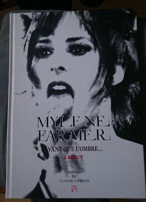 Mylène Farmer Avant que l'ombre à Bercy LIVRE