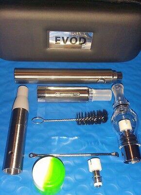 3 In 1 Vape Kit Pen  Dab Juice Dry   Free Shipping Usa Seller Wax Glass Globe