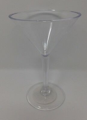 Plastic Martini Cocktail Glasses Clear Disposable Party Event BBQ Buffet Cheap! - Cheap Disposable Glasses