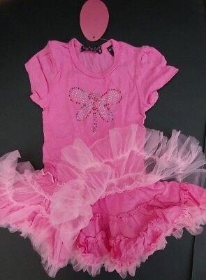 NWT butterfly TUTU ballerina dress GIRLS size 6 (Girls Butterfly Dress)