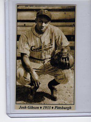 Josh Gibson 33 Pittsburgh Crawfords Negro League Tobacco Road Series  25
