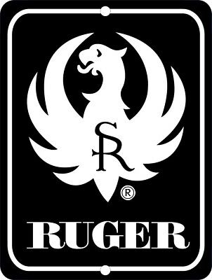 RUGER Firearms Metal Aluminum Tin Sign 9