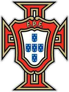 Portuguese Football Federation Portugal Soccer Car Bumper Sticker Decal 4