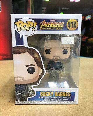 Bucky Barnes Avengers Infinity War #418 - Funko Pop Figure