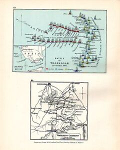 MAP-BATTLE-PLAN-TRAFALGAR-21-Oct-1805-SHIPS-WATERLOO-CAMPAIGN