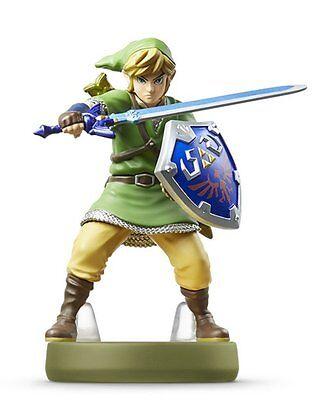Nintendo Amiibo Link Skyward Sword The Legend Of Zelda Figure Wiiu 3Ds Japan New