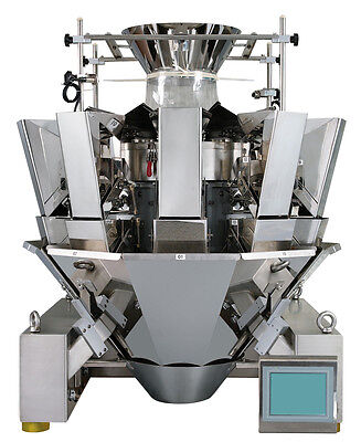 Wrapsense Multi-head Weigher 10s Optional Form Fill And Seal Packaging Machine