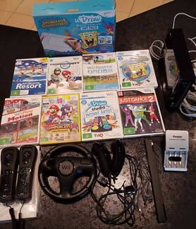 Wii Bundle plus LOTS of accessories and games