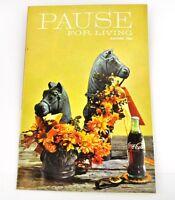 Coca-cola Coca Cola Pausa Per Living Rivista Libretto Usa Uscita Autunno 1966 -  - ebay.it