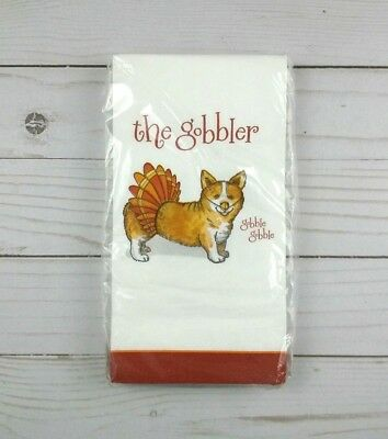 Paper Dinner Napkins Guest Towels Buffet Party 20 Ct Thanksgiving Dog