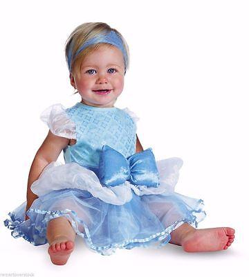 Disguise Disney Baby Cinderella Halloween Infant Costume   Sz 6-12 mo ()