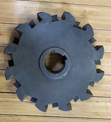 Used 1 Kennametal Indexable Cutter Body Face Mill With Inserts Khpl-8-1p4-0