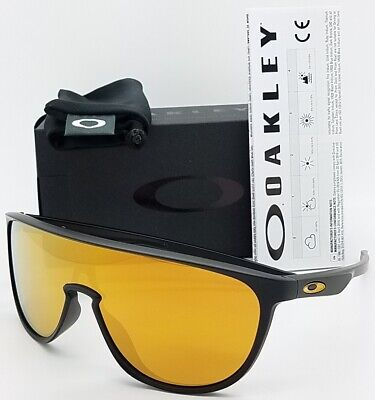 NEW Oakley Trillbe sunglasses Matte Black 24k Iridium 9318-06 AUTHENTIC 9318 NIB