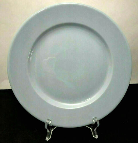 "Buffalo China Blue Lune 9"" Dinner Plate Restaurant Ware Vintage Diner"