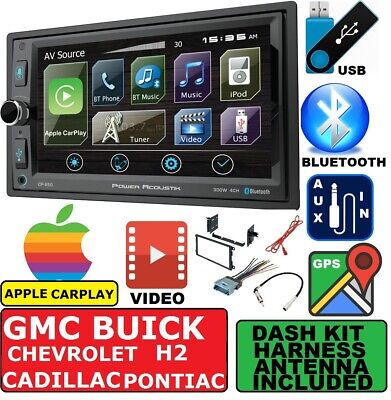 Apple Stereo-system ( CHEVY-GMC GPS NAVIGATION SYSTEM BLUETOOTH APPLE CARPLAY BLUETOOTH STEREO PKG)