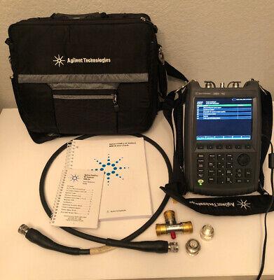 Agilent Fieldfox N9912a Rf Analyzer W Opt 104111230235236302