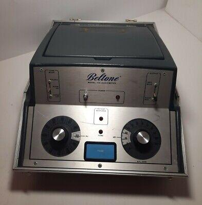 Beltone Model 119 Audiometer Untested