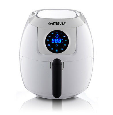 GoWISE USA 4th Generation XL Electric Air Fryer w/ Touch Screen 5.8 QT GW22635